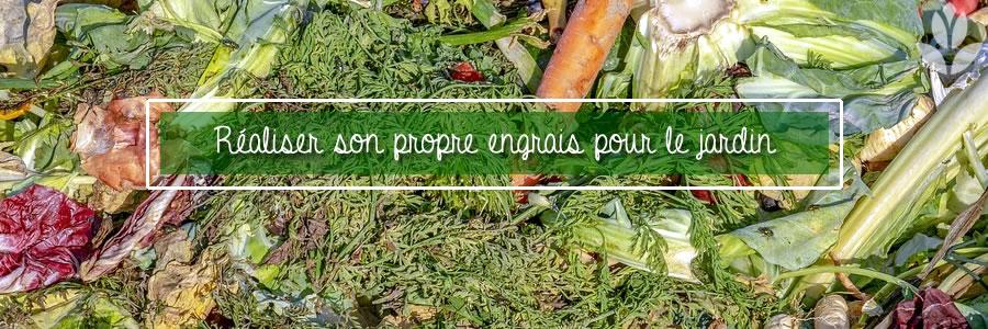 Réaliser son engrais de jardin