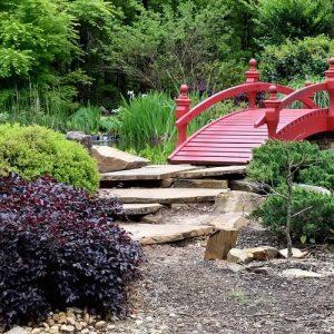 riviere sèche du jardin