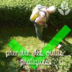 des outils pratique au jardin