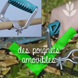 poignets amovibles pour le jardinage