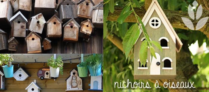 nichoirs à oiseaux