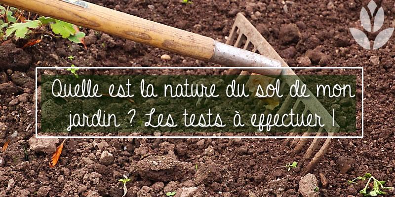 quelle est la nature du sol de jardin?