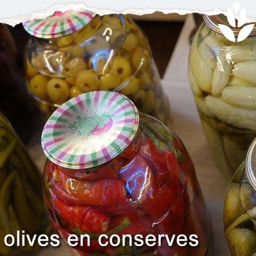 olives en conserves