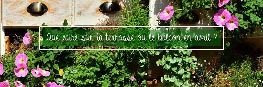 terrasse fleurie avril