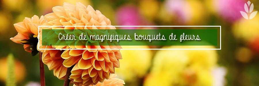 Créez des bouquets de fleurs originaux